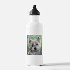 PORTRAIT OF A WESTIE Water Bottle