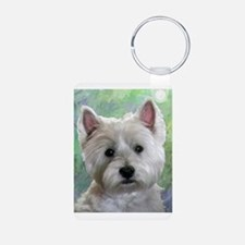 PORTRAIT OF A WESTIE Keychains