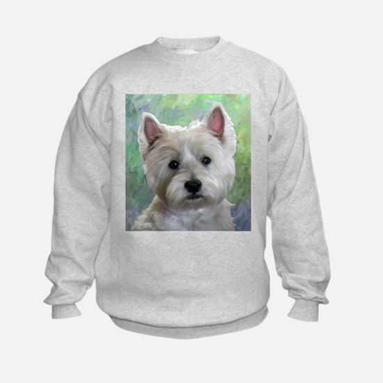 PORTRAIT OF A WESTIE Sweatshirt