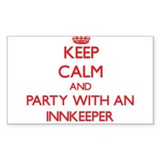 Keep Calm and Party With an Innkeeper Decal
