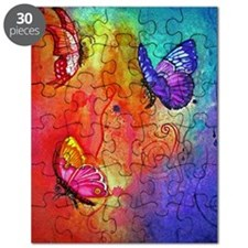 Butterfly Color Blast Puzzle