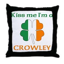 Crowley Family Throw Pillow