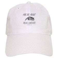 Ask About Real Estate Baseball Cap