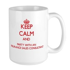 Keep Calm and Party With an Insurance Sales Consul