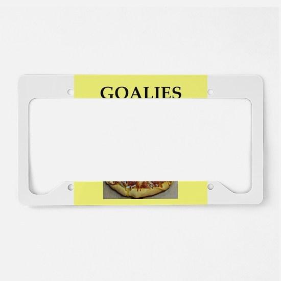 GOALIES License Plate Holder