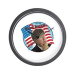 Dave Barry For President Wall Clock