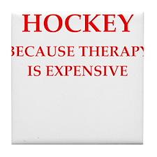 hockey Tile Coaster