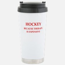 hockey Travel Mug