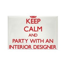 Keep Calm and Party With an Interior Designer Magn