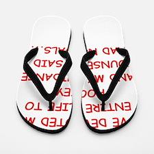 hockey Flip Flops