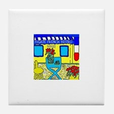 Fugate French Bistro Tile Coaster