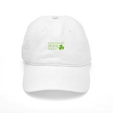 Everybodys IRISH today with a green shamrock Baseball Cap