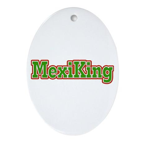 MexiKing Oval Ornament