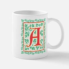 Elegant Renaissance Letter A Mug
