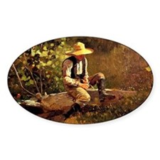 Winslow Homer - The Whittling Boy Decal