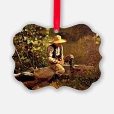 Winslow Homer - The Whittling Boy Ornament