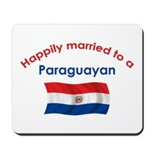Happily Married To Paraguayan Mousepad