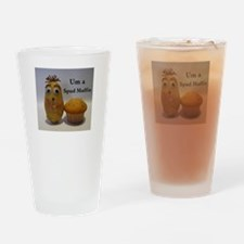 Stud (spud) Muffin Drinking Glass
