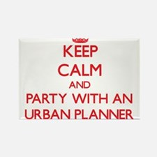 Keep Calm and Party With an Urban Planner Magnets