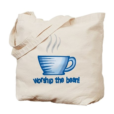 Worship the Bean Tote Bag