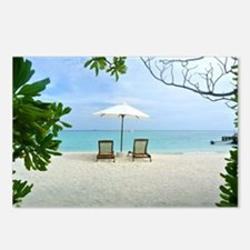 Beach Holiday Postcards (Package of 8)
