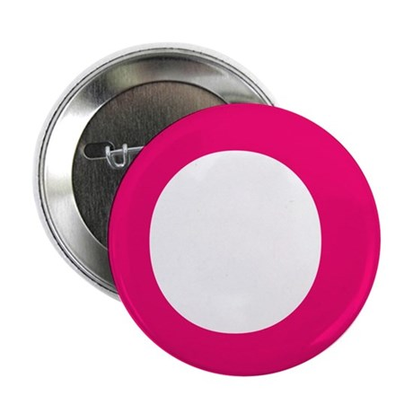 """Letter Q Pink 2.25"""" Button (10 pack)"""