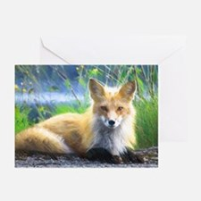 Red Fox Greeting Cards