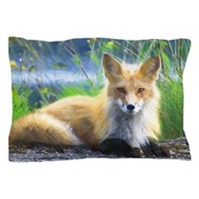 Red Fox Pillow Case