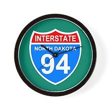 Interstate 94<BR> Wall Clock