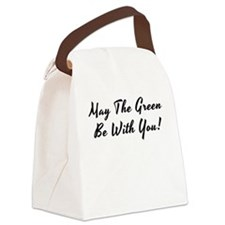 May The Green ... Canvas Lunch Bag