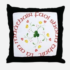 Mother's Day (Tulips) Throw Pillow