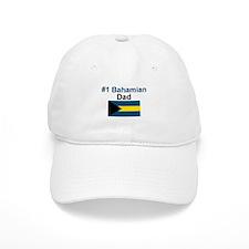 #1 Bahama Dad Baseball Cap