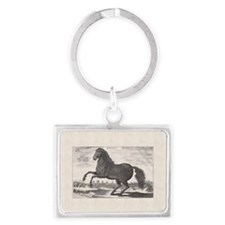 Alexander the Great's Horse Buc Landscape Keychain