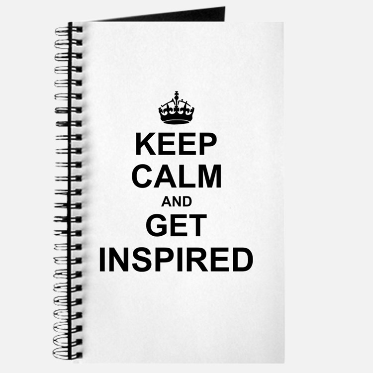 Keep Calm and Get Inspired Journal