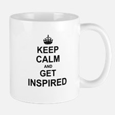 Keep Calm and Get Inspired Mugs