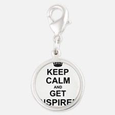 Keep Calm and Get Inspired Charms