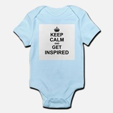 Keep Calm and Get Inspired Body Suit
