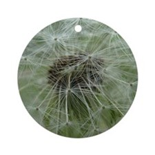 Wonderful Dandelion Round Ornament