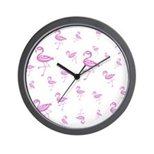 Flamingo Loco Wall Clock