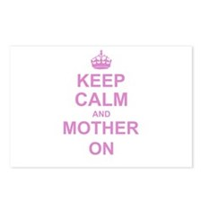 Keep Calm and Mother on Postcards (Package of 8)
