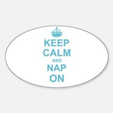 Keep Calm and Nap on Decal