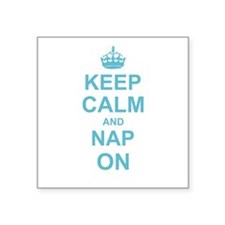 Keep Calm and Nap on Sticker