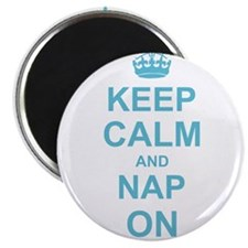 Keep Calm and Nap on Magnets