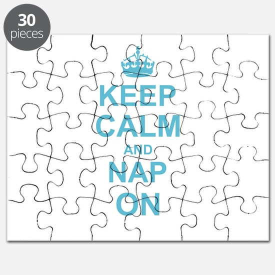 Keep Calm and Nap on Puzzle