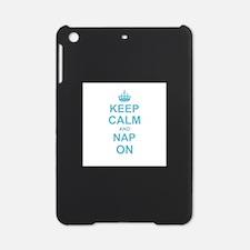 Keep Calm and Nap on iPad Mini Case