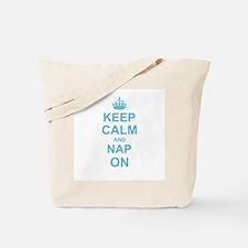 Keep Calm and Nap on Tote Bag