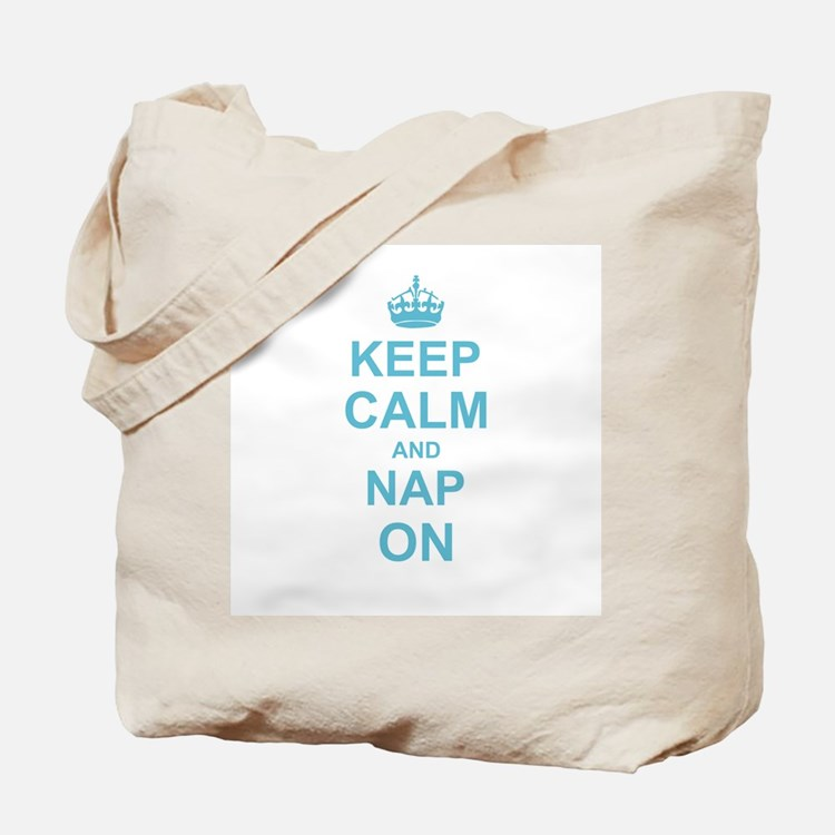 Keep Calm and Nap on Tote Bag
