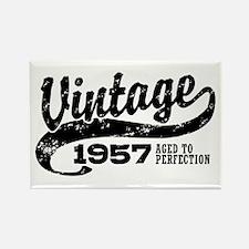 Vintage 1957 Rectangle Magnet