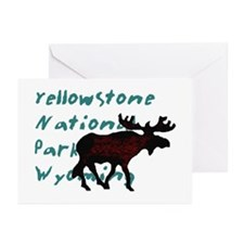 Yellowstone National Park Wyo Greeting Cards (Pack