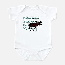 Yellowstone National Park Wyo Infant Bodysuit